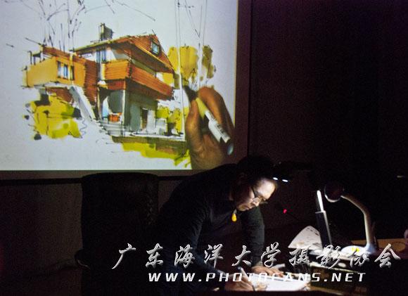 杨健家具组合手绘线稿