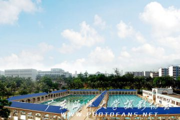 广东海洋大学游泳池