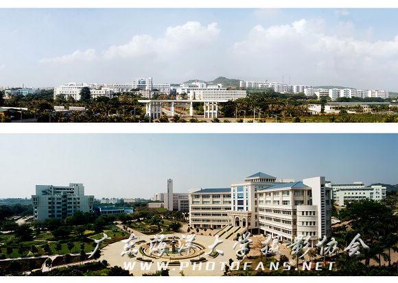 广东海洋大学全景图01